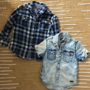 7 For All Mankind Button Ups